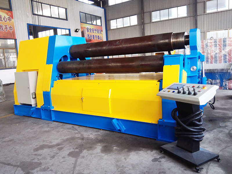 W12 hydraulic four-roller bending machine